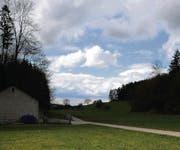 In Oberuzwiler «Flurhof» musste Ernst Schrämli 1941 sein Leben lassen – heute ist es friedlicher. (Bild: Michael Hug)