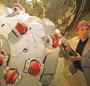 Dieser Bohrkopf gräbt sicher kein Bellevue-Tunnel. (Bild: Michel Canonica)