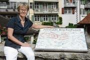 Stadträtin Christina Forster präsidiert das OK für das Bischofszeller Kulturenfest. (Bild: Georg Stelzner)
