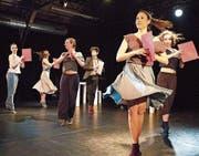 Das Tanztheater Baden in Aktion. (Bild: Andreas Taverner)