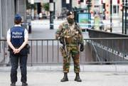 In Belgien gilt weiter die zweithöchste Terrorwarnstufe. (Bild: JULIEN WARNAND (EPA))
