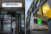 Die Verantwortlichen von Abraxas und VRSG haben sich für ein Zusammengehen entschieden. (Bild: Urs Bucher)