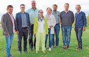 Das Organisationskomitee des Biedermeierfestes. (Bild: PD)