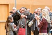 Die Gossauer haben Wolfgang Giella zu ihrem neuen Stadtpräsidenten gewählt. (Bild: Hanspeter Schiess)