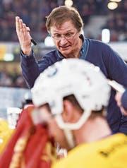 Trainer Arno del Curto setzte im Playoff vor allem auf die Jungen. (Bild: Alessandro della Valle/Keystone)
