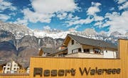 In der Region Sarganserland hofft man, dass das Resort am Walensee rasch wieder geöffnet werden kann. (Bild: PD)