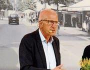 Am Wirtschaftstag der Wiga 2017 war für ihn die Welt noch in Ordnung: Pierin Vincenz sprach als Ex-Chef von Raiffeisen Schweiz und Helvetia-VR-Präsident über das Sportsponsoring. (Bild: Hansruedi Rohrer)