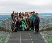 Hoch über den Dächern von Dornbirn. (Bild: PD)