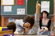 Am Montag geht es für die Kinder im Kanton St.Gallen wieder in die Schule. (Bild: SALVATORE DI NOLFI (KEYSTONE))
