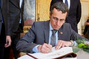 Bundesrat Ignazio Cassis informiert heute Mittwoch über seine Europastrategie. (Bild: Keystone)