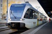 Die Thurbo Schnellzüge ab St.Gallen werden in Romanshorn, Kreuzlingen Hafen und Kreuzlingen halten. (Bild: Urs Bucher)