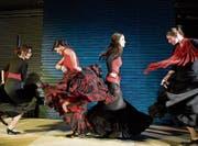 Die Tanzgruppe der Flamenco-Abteilung nimmt das Publikum mit auf eine Reise in den Süden. (Bild: PD)