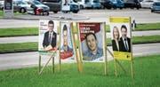 Woher kommt das Geld? Der Druck, die Kampagnenbudgets publik zu machen, nimmt zu. (Bild: Michel Canonica (St. Gallen, 29. September 2015))