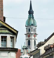Über dem langjährigen Schnitt: Die Sanierung der katholischen Stadtkirche St. Nikolaus führte in der Stadtrechnung 2015 zu einem Anstieg der Beiträge an Kulturobjekte. (Bild: Donato Caspari)