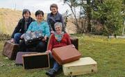 Das Koffer-OK-Team: Susanne Stillhart, Jolanda Wick, Franziska Kern und Brigitte Werder (von links). (Bild: Maya Heinzmann)