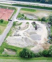 Das Amphibienlaichgebiet ist demnächst fertiggestellt. (Bild: PD)