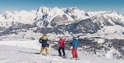 Die Aussicht von den Skipisten im Toggenburg wird im Test positiv bewertet. (Bild: PD)