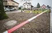 Heuer abgesperrt: Der Löffel-Park beim Jakob-Schoop-Weg wurde geräumt. (Bild: Reto Martin)