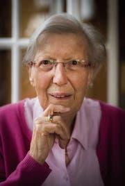 Eine scharfsichtige Beobachterin, schonungslos im Ton: Helen Meier, 88. (Bild: Benjamin Manser)