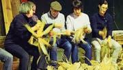 Die «Türgga-Usschellete» ist ein geselliger Anlass (Bild: Heidy Beyeler)