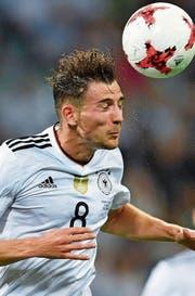 Begeistert mit seiner Treffsicherheit Deutschlands Anhänger: Leon Goretzka. (Bild: Martin Meissner/AP)