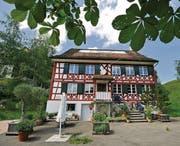 Die alte Mühle in Guntershausen: Hier ist Caroline Farner vor über 150 Jahren aufgewachsen. (Bild: Reto Martin)