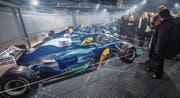 Vor einem Jahr wurde die Ausstellung um mehrere Formel-1-Autos reicher und schon bald wird der Autobau noch grösser. (Archivbild: Reto Martin)