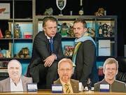 Ein Bild aus der fünften Staffel: Uwe Schuran und Markus Keller. (Bild: Reto Martin)