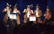 Die Bündner Wasserratta begeistern seit 2015 auch das Publikum in Herisau. (Bilder: Roger Fuchs)