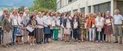 Erfolgreiche Absolventinnen und Absolventen der Kräuterakademie. (Bild: pd)