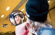 Blickt nicht in den Rückspiegel, sondern vorwärts: die Engelbergerin Michelle Gisin. (Bild: Keystone)