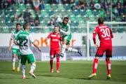 Kann der FCSG auch gegen den FC Thun drei Punkte einfahren? (Bild: Urs Bucher)