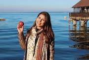 Tiziana Castauro isst täglich mindestens einen Apfel. (Bild: Arcangelo Balsamo)