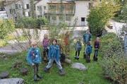 Die jungen Detektive im Glarnerland. (Bild: PD)