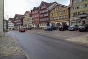 Das Bauprogramm wurde geändert. Als Erstes wird nun der Dorfplatz saniert. (Bild: PD)