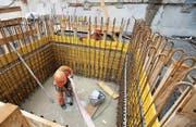 Die aktuelle Gesetzeslage zum Bauen in Wil gleicht einer Baustelle. (Symbolbild: Salvatore di Nolfi/Keystone)