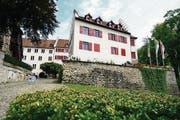 Unverstellt und aufgefrischt: Südseite des Schlosses Arbon. (Bild: Max Eichenberger)