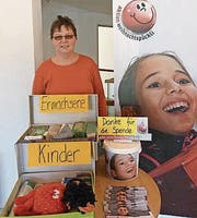 Corina Pfäffli ist Ansprechperson für die Sammelaktion. (Bild: kli)