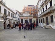 Die Galluskirche am «Campo S. Gallo» in der Nähe des Markusplatzes in Venedig. (Bild: Peter Erhart)