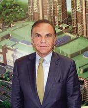 In der Baubranche ist er reich geworden: Mehmet Nazif Günal. pd