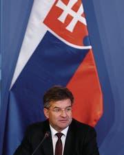 Der slowakische Aussenminister Miroslav Lajcák. (Bild: Arpad Kurucz/Getty (Budapest, 29. August 2016))