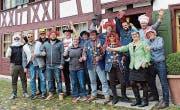 Das Fasnachtskomitee ist bestens motiviert auf die kommende Buure- fasnacht 2018. (Bild: PD)