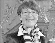 Elsi Hohl Präsidentin Evangelisch-reformierte Kirchgemeinde Trogen (Bild: pd)