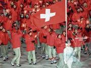 Cologna führt die Schweizer Olympioniken an (Bild: Alexandra Wey/Keystone)