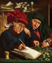 Steuereintreiber waren schon um 1500 nicht sehr beliebt. Gemälde von Quentin Massys, Öl auf Holz, entstanden nach 1501. (Bild: Liechtenstein. The Princely Collections, Vaduz-Vienna)