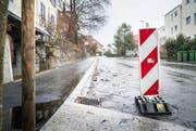 Wutbürger setzen sich gegen Baumassnahmen rund um die Sanierung der Neuhauserstrasse zur Wehr. (Bild: Andrea Stalder)