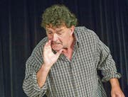 Jaap Achterberg zeigte sich im Kleintheater Fabriggli als ein Meister des Erzähltheaters. (Bild: Bernhard Fuchs)