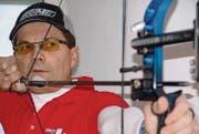 Noch trainiert Weltmeister Niko Tomsic in der Halle. (Bild: pd)