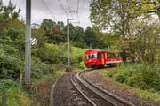 Ein Zug der Appenzeller Bahnen. (Bild: Urs Bucher (Symbolbild))
