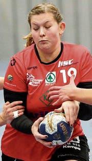 Jacqueline Maier gehörte mit vier Toren zu den treffsichersten Kreuzlingerinnen. (Bild: Mario Gaccioli (18.11.2017))